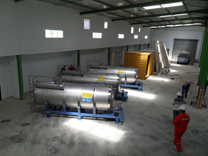 Sicomecah pour la construction m tallique et caissons isotherme en tunisie for Construction chambre froide pdf